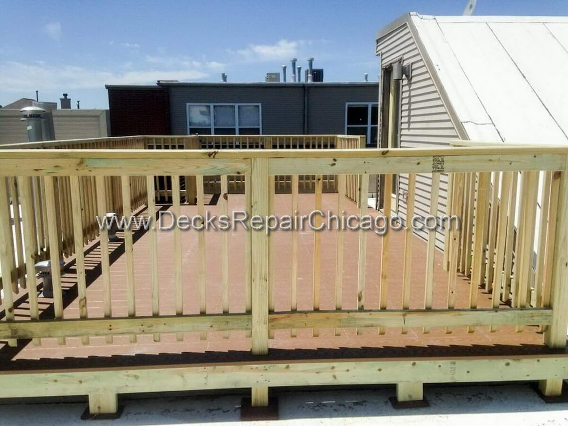Decks Repair Chicago - Rooftop Decks